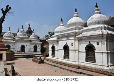 A part of the Hindu temple of Pashupatinath in Kathmandu, Nepal.