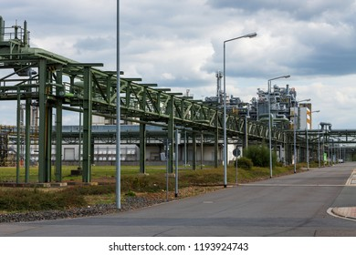 Part of an industrial plant