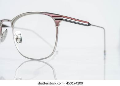Part of men fashion eyeglasses