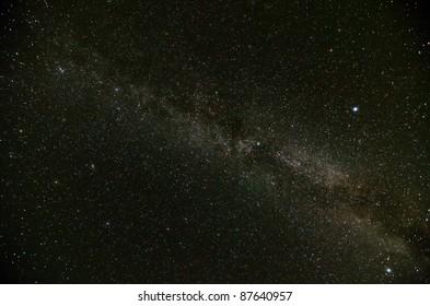 Part of Milky Way Galaxy
