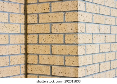 Part of a modern brick wall as a background image
