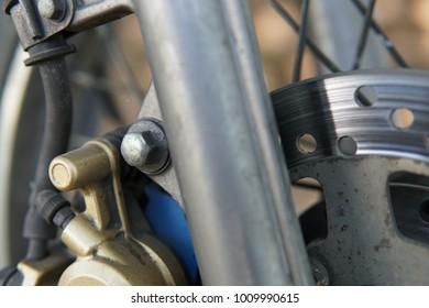 part of motorbike