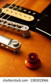 A part of a nice electric guitar