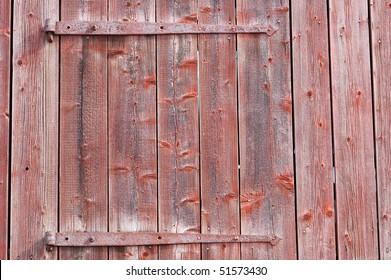 part of old barndoor
