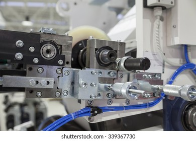part of printing machines for roll papaer