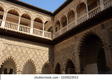Part of the Real Alcazar of Seville, Spain