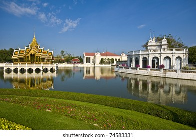 part of the royal palace area in Bang Pa In