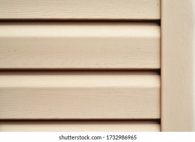 Part of siding or wall cladding front view background.