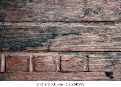 Part of some old wood panels as a background