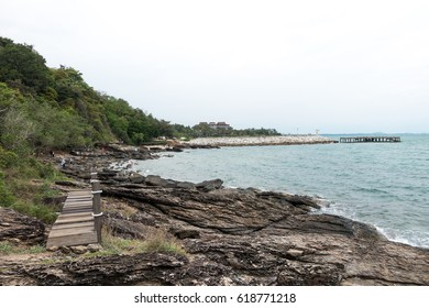 Part for Travel in thailand Beautiful view Nature for Unseen Thailand and Top Travel at Khao Laem Ya National Park,Rayong,Thailand
