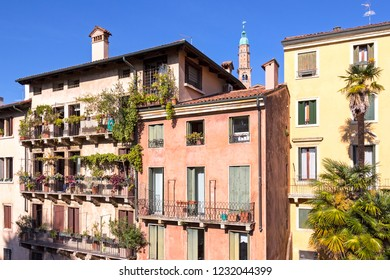 Part of Vicenza. Vicenza is a thriving and cosmopolitan city, with a rich history and culture, and many museums, art galleries, piazzas, villas, churches and elegant Renaissance palazzi.