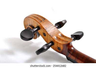 Part of violin