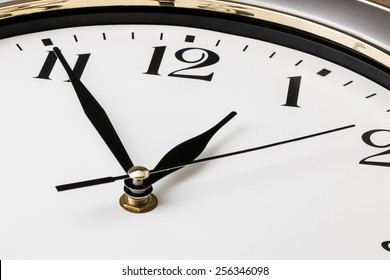 part of a wall clock