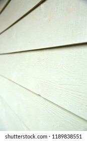 Part of the wall of the house covered with Cerber fiber cement siding.