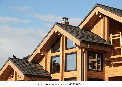 Part of a wooden house