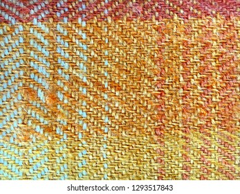 Part of a wool blanket as a detailed background