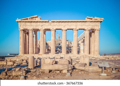 Parthenon in Acropolis, Athens, Greece