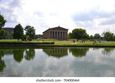 The Parthenon in Nashville Tennesse