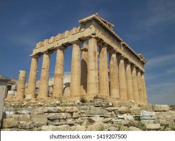 Parthenon ruins in Athens, Greece