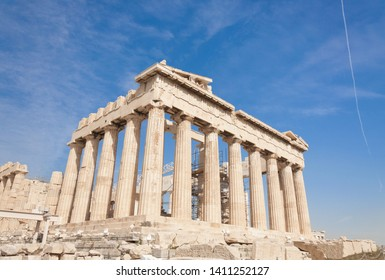 The Parthenon temple, Athens, Greece