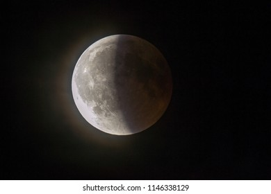 Partial Lunar Eclipse July 2018