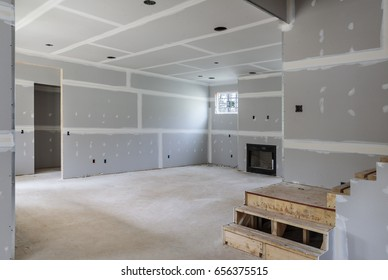 Partially completed interior remodel