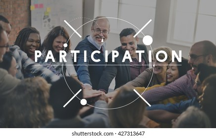 Participation Cooperation Participate Share Togetherness Concept