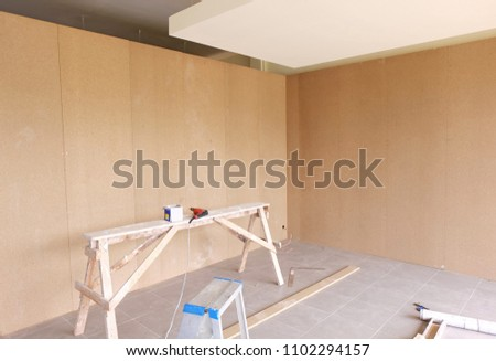 Particle Board Lowdensity Fiberboard Chipboard Engineered Stock