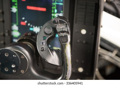 Particular of Right Cloche in a Cockpit of an Airplane