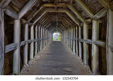 Partington Cove Tunnel, Big Sur, California