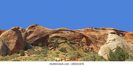 Partition Arch,  Arches National Park.