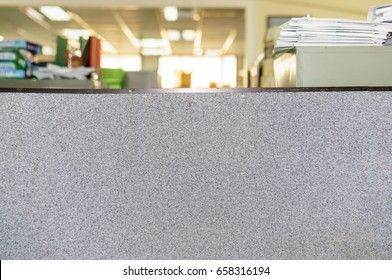 Partition Office Cubicles,  background out of focus