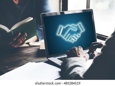 Partnership Agreement Cooperation Collaboaration Concept