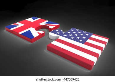Partnership with USA and Great Britain / 3D Rendering