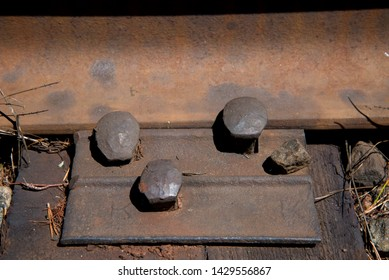 Parts of the railway. Holders of sleepers. Elements of rail and sleepers. Fasteners of sleepers and rail