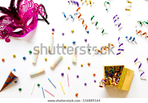 Party Decoration Party Stuff Birthday Party Stock Photo