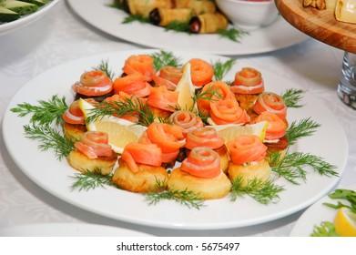 party delicious food