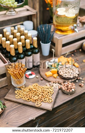 Party Food Wedding Concept Good Looking Stock Photo Edit Now