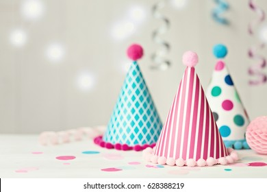 Party hat background