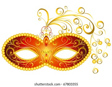 Party mask for masquerade.