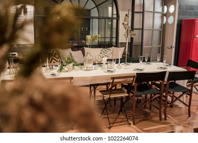 party Meeting table