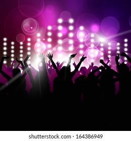 party music background for active nighttime events