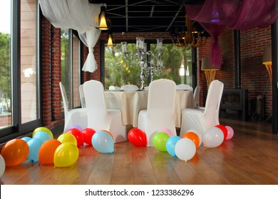 Party Preparation at the Hall