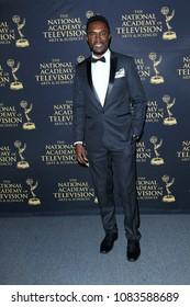PASADENA - APR 27: RIchard Brooks at the 45th Daytime Creative Arts Emmy Awards Gala at the Pasadena Civic Center on April 27, 2018 in Pasadena, California