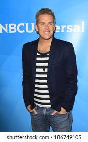 PASADENA - APR 8: Mark McGrath at the NBC/Universal's 2014 Summer Press Day held at the Langham Hotel on April 8, 2014 in Pasadena, California