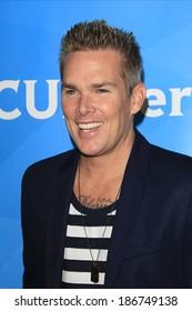 PASADENA - APR 8: Mark McGrath at the NBC/Universal's 2014 Summer Press Day held at the Langham Hotel on April 8, 2014 in Pasadena, California