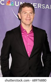 PASADENA, CA - JAN 13:  Bobby Flay arrives at the NBC TCA Winter 2011 Party at Langham Huntington Hotel on January 13, 2010 in Pasadena, CA