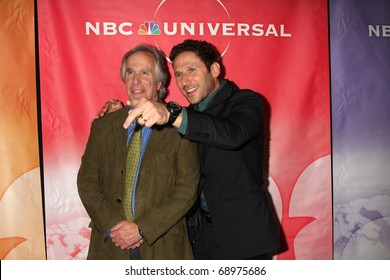 PASADENA, CA - JAN 13:  Henry Winkler, Mark Feuerstein arrives at the NBC TCA Winter 2011 Party at Langham Huntington Hotel on January 13, 2010 in Pasadena, CA