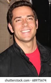 PASADENA, CA - JAN 13:  Zachary Levi arrives at the NBC TCA Winter 2011 Party at Langham Huntington Hotel on January 13, 2010 in Pasadena, CA