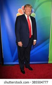 PASADENA, CA - JAN 16: Donald Trump at the NBCUNIVERSAL 2015 Winter TCA Press Tour at The Langham Huntington Hotel on January 16, 2015 in Pasadena, CA